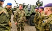 MG MC Guire visit Army in Norway